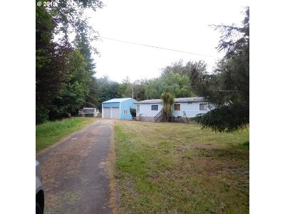 Coos Bay Single Family Home For Sale: 65447 Millicoma Rd