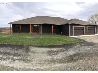 Umatilla County Single Family Home For Sale: 32287 E Loop Rd