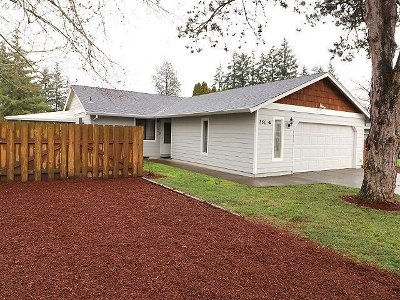 Canby Single Family Home Pending: 350 S Holly St