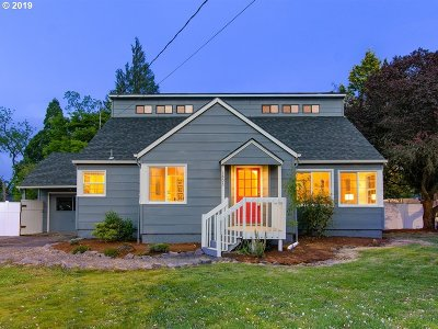 Forest Grove Single Family Home For Sale: 1803 Hawthorne St
