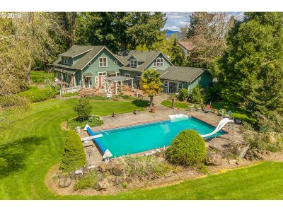 Single Family Home For Sale: 8745 Thurston Rd