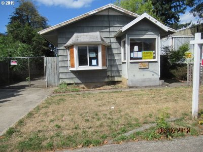Portland Single Family Home For Sale: 7023 SE 72nd Ave