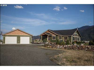 Grant County Single Family Home For Sale: 26459 W Bench Rd