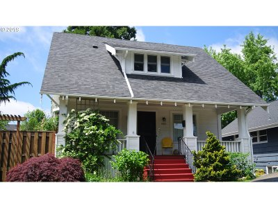 Portland Single Family Home For Sale: 4405 NE 34th Ave