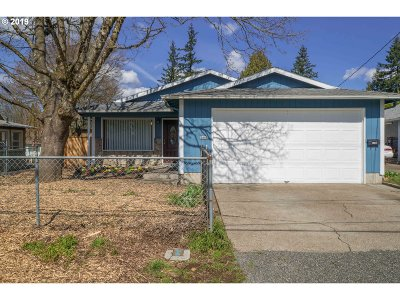 Single Family Home For Sale: 5505 SE Nehalem St