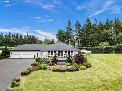 Portland Single Family Home For Sale: 14421 NW Springville Rd