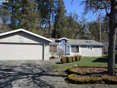 Canby Single Family Home Pending: 1655 S Elm St #106