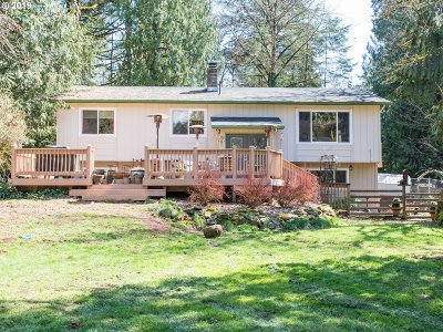 Scappoose Single Family Home For Sale: 31569 Deane Dr