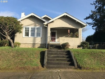 Coquille Single Family Home For Sale: 986 N Collier St