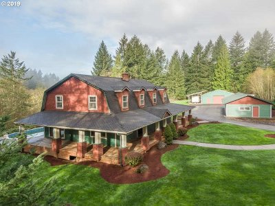 Oregon City Single Family Home For Sale: 19200 S Mosier Rd