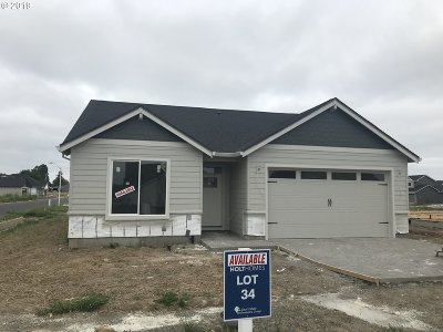 Canby Single Family Home For Sale: 1175 S Walnut St #Lot34