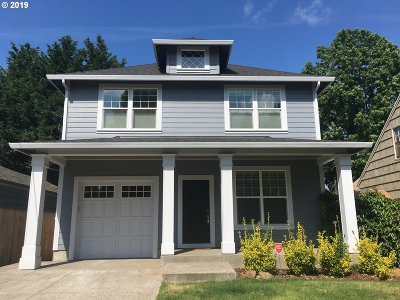 Single Family Home For Sale: 3217 SE 74th Ave