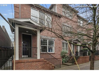 Portland Condo/Townhouse For Sale: 1928 NW Overton St