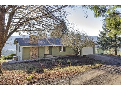 Forest Grove Single Family Home For Sale: 5735 NW Paradise Dr