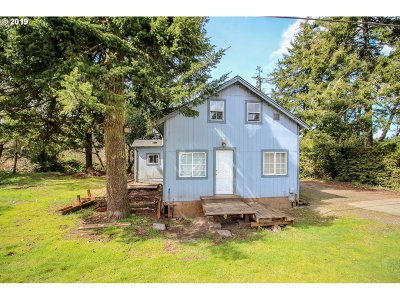 Florence Single Family Home For Sale: 88336 Hwy 101