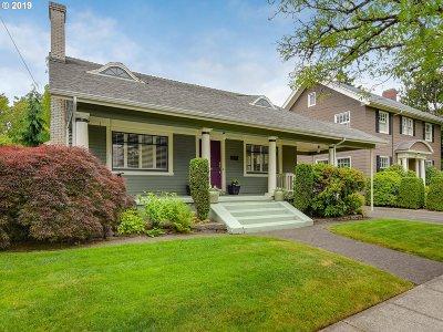 Multnomah County Single Family Home For Sale: 2943 NE 21st Ave