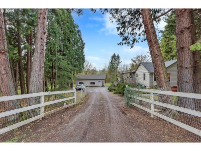 Canby Single Family Home For Sale: 23151 S Central Point Rd