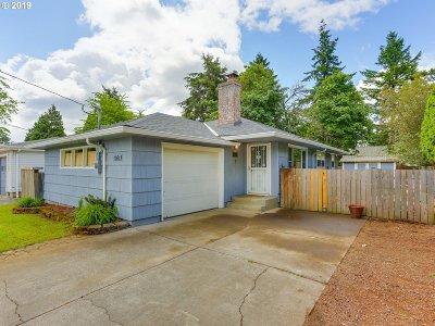 Single Family Home For Sale: 11618 SE Washington St