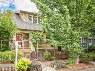 Portland Single Family Home For Sale: 2116 NE 8th Ave