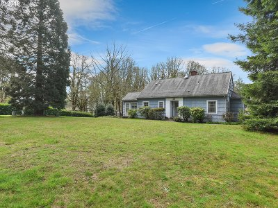 Milwaukie Single Family Home Bumpable Buyer: 16815 SE River Rd