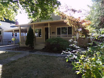 Salem Single Family Home For Sale: 2535 Maple Ave