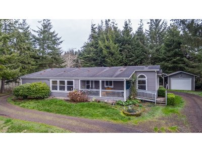 North Bend Single Family Home For Sale: 93969 Howk Hill Ln