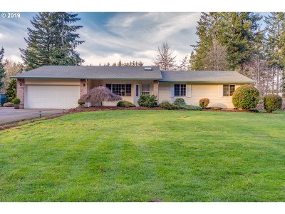 Oregon City Single Family Home For Sale: 18717 S Grasle Rd