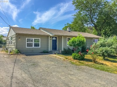 Winston Single Family Home For Sale: 266 NW Rose St