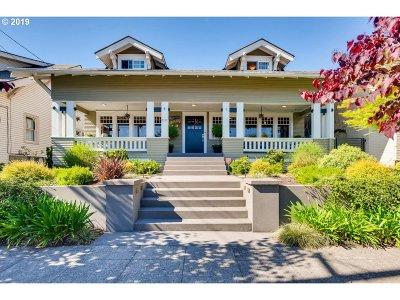 Clackamas County, Multnomah County, Washington County Single Family Home For Sale: 3237 NE Schuyler St