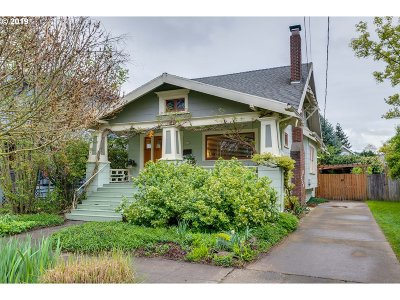 Single Family Home For Sale: 1614 SE 40th Ave