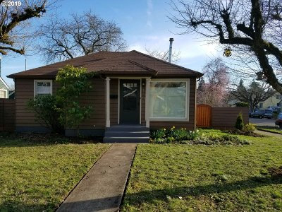 Eugene Single Family Home For Sale: 1392 W Broadway
