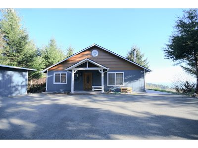 Brookings Single Family Home For Sale: 97195 Stagecoach Rd