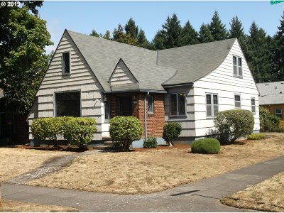 Portland Single Family Home For Sale: 6304 N Mississippi Ave