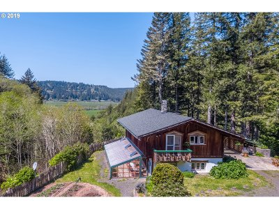 Coquille Single Family Home For Sale: 91771 Sylvania Lane