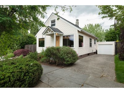 Portland Single Family Home For Sale: 3414 NE 76th Ave