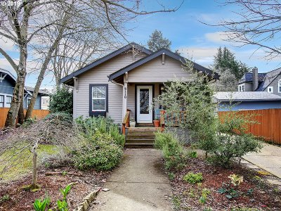 Portland Single Family Home For Sale: 5110 N Oberlin St