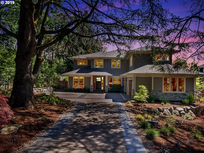 Lake Oswego Single Family Home For Sale: 12812 Goodall Rd