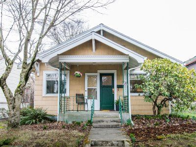 Portland Single Family Home For Sale: 7626 N Drummond Ave