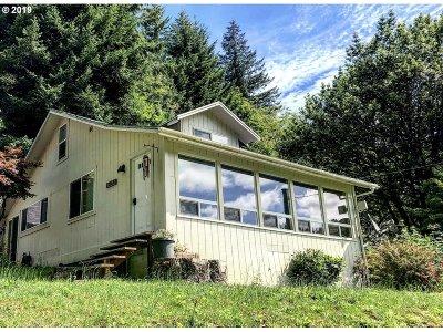Mapleton Single Family Home Pending: 87467 Tiernan Rd