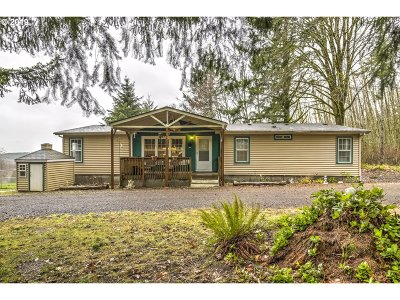 North Plains Single Family Home For Sale: 22855 NW Moran Rd