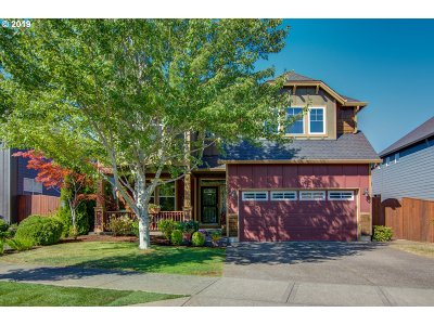 Happy Valley, Clackamas Single Family Home For Sale: 13591 SE Scenic Ridge Dr