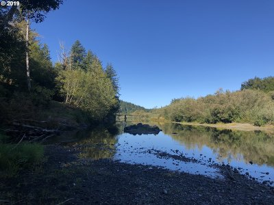 Port Orford Residential Lots & Land For Sale: Elk River