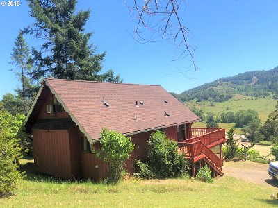 Roseburg Single Family Home For Sale: 4691 Happy Valley Rd