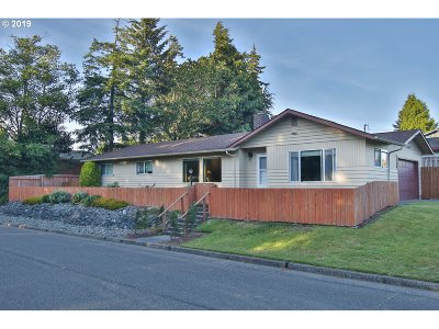 North Bend Single Family Home For Sale: 2340 Lombard St