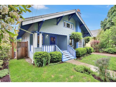 Portland Single Family Home For Sale: 2426 NE 7th Ave