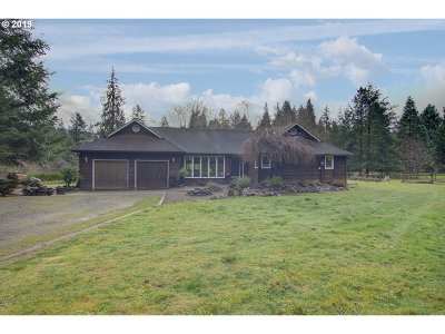 Cowlitz County Single Family Home For Sale: 7849 Lewis River Rd