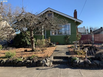 Portland Single Family Home For Sale: 3622 NE 68th Ave