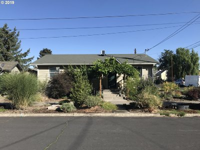 Pendleton Single Family Home For Sale: 201 SW Hailey Ave