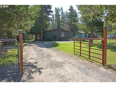 Bend Single Family Home For Sale: 55826 Swan Rd