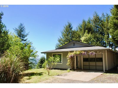 Coquille Single Family Home For Sale: 1040 E 13th